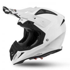 Solid White Airoh Aviator 2.2 Helmet