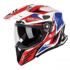 Carbon Red Gloss Airoh Commander Helmet