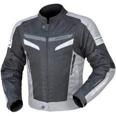 Silver/Black DriRider Air-Ride 5 Jacket