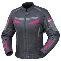 Black/Pink DriRider Air-Ride 5 Ladies Jacket