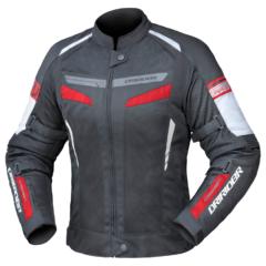 Black/Red DriRider Air-Ride 5 Ladies Jacket