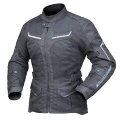 Black DriRider Apex 5 Airflow Ladies Jacket