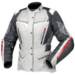 Grey/White/Black DriRider Apex 5 Ladies Jacket