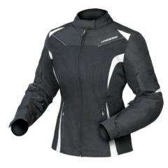 Black/White DriRider Jewel 2 Air Ladies Jacket