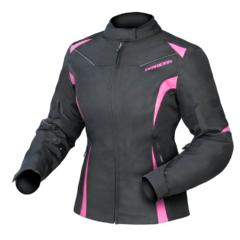 Black/Pink DriRider Jewel 2 Ladies Jacket