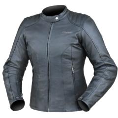Black DriRider Paris Leather Ladies Jacket