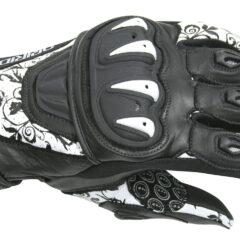 White/Black DriRider Stealth Ladies Glove