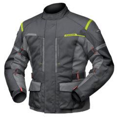 Black/Anthracite DriRider Summit Evo Mens Jacket