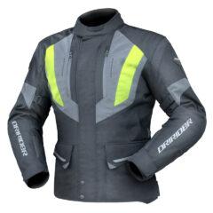 Black/Yellow DriRider Vision Mens Jacket