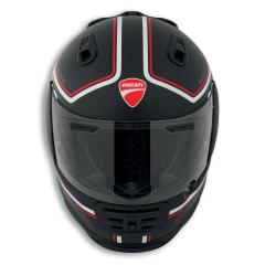 Ducati Redline Full-Face Helmet black red white