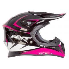 Black/PinkRXT Edge Helmet
