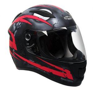 Crypt Black/RedRXT Evo Helmet
