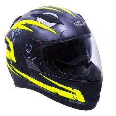 Crypt Fluro Yellow RXT Evo Helmet