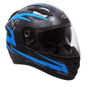 Crypt Black/BlueRXT Evo Helmet