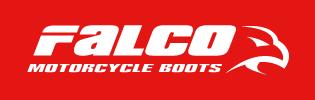 Falco Motorcycle Boots Logo