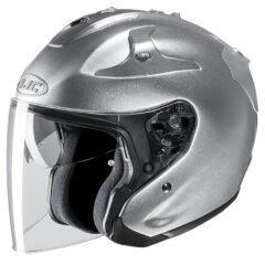 Silver HJC FG-Jet Helmet Side