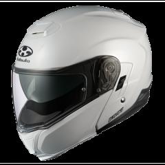 Pearl White Kabuto Ibuki Helmet