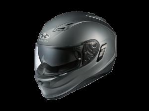 Kabuto Kamui Helmet in Flat Gunmetal