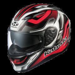 Hammer Black/Red Kabuto Kamui Helmet