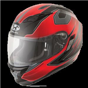 Stinger Matt Black Black/Red Kabuto Kamui Helmet