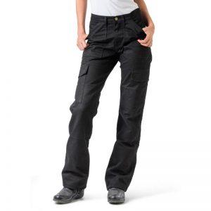 Black Draggin Cargo Womens Pants