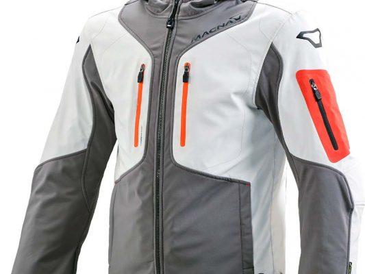Grey/Ivory Macna Aytee Nighteye Mens Jacket