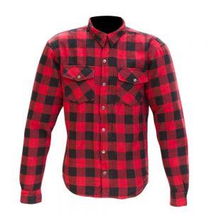 Black/Red Merlin Axe Jacket