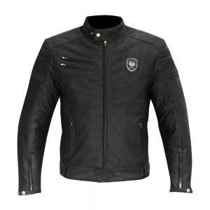 Black Merlin Alton Leather Jacket