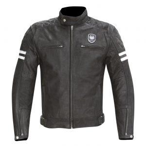 Black Merlin Hixon Leather Jacket