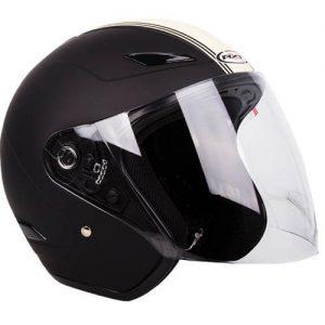 RXT Metro Helmet - Retro Black/Cream