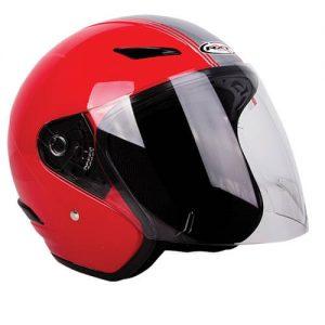 RXT Metro Helmet - Retro Red/Silver
