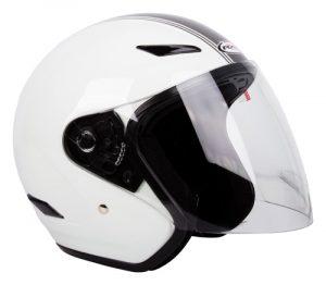 Retro White/Silver RXT Metro Helmet