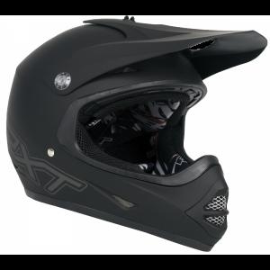 Matt Black RXT Racer 3 Youth Helmet
