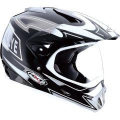 Black/Silver RXT Rallye Helmet