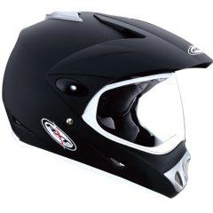 Matt Black RXT Rallye Helmet