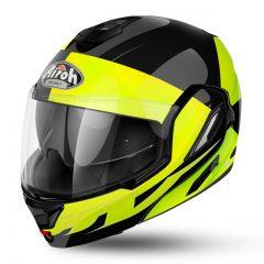 Fusion Yellow Gloss Airoh Rev Helmet