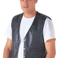 Black Rjays Lace-Up Vest