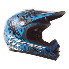Black/Blue RXT Racer 3 Youth Helmet