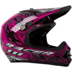 Black/Magenta RXT Racer 3 Youth Helmet