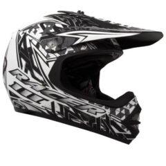Black/White RXT Racer 3 Youth Helmet
