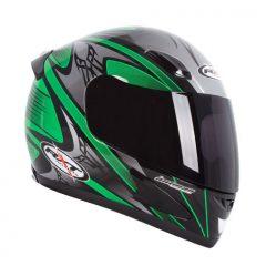 Black/Green RXT Sabre Helmet