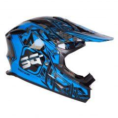 Neo Blue RXT SG1 Helmet
