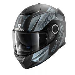 Matt Black/AnthraciteShark Spartan Karken Helmet