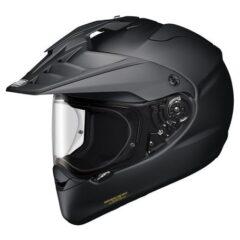 Matt Black Shoei Hornet Adventure Helmet