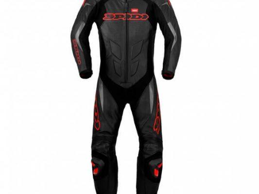 Black/RedSpidi Supersport Wind Pro 1 Piece Suit