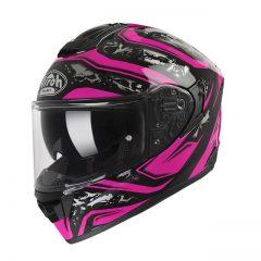 Dude Pink Gloss Airoh ST501 Helmet