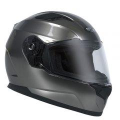 Dark Silver RXT Street Helmet