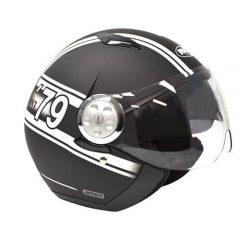 Matt Black/WhiteRXT Striker Helmet
