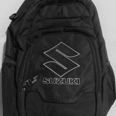Suzuki Black Backpack
