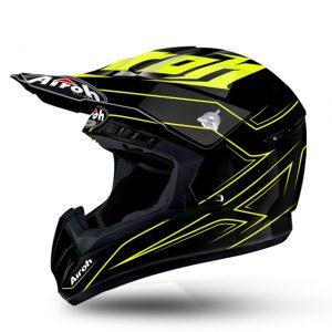 Spacer Yellow Gloss Airoh Switch Helmet